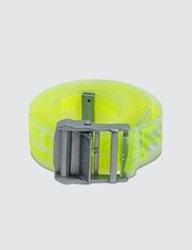 Off White Rubber Industrial Belt