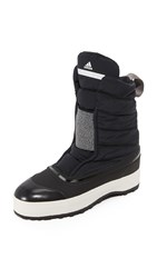 Adidas By Stella Mccartney Winter Boots Black White Granite