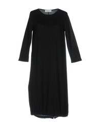 Jucca Knee Length Dresses Black