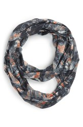 Junior Women's Bp. Abstract Print Infinity Scarf