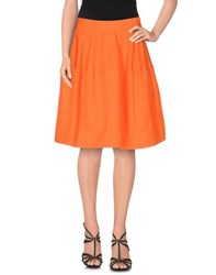 P.A.R.O.S.H. Skirts Knee Length Skirts Women Orange
