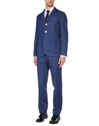 Doppiaa Suits Dark Blue