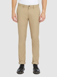 Ben Sherman Beige Slim Fit Chinos