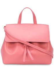 Mansur Gavriel Mini Mini Lady Bag Pink And Purple