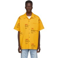 Off White Yellow Industrial Shirt