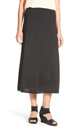 Women's Eileen Fisher Paneled Merino Knit Midi Skirt
