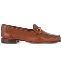 Carvela Mariner Leather Loafers Tan