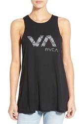 Rvca Crystallized Graphic Tank Black