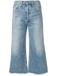 Citizens Of Humanity Emma Wide Leg Jeans Blue