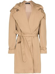Y Project Infinity Exaggerated Trench Coat 60