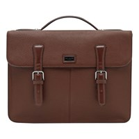 Ted Baker Bengal Leather Satchel Tan
