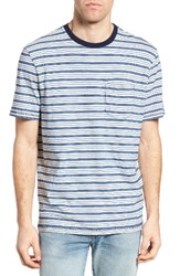 True Grit Men's Feeder Stripe Ringer T Shirt