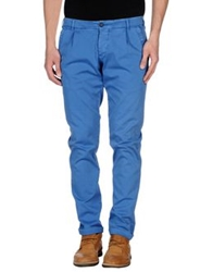 Monocrom Casual Pants Bright Blue