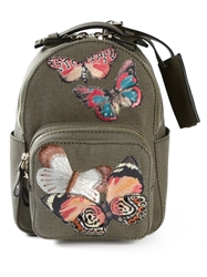 Valentino Garavani Embroidered Butterfly Backpack