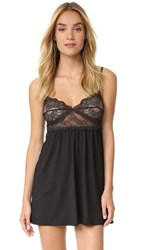 Only Hearts Club So Fine Baby Doll Chemise Black