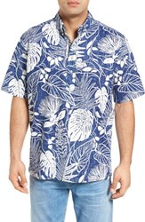 Reyn Spooner Men's Kula Forest Classic Fit Sport Shirt