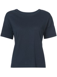 Organic By John Patrick Classic Tee Cotton Blue