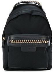 Stella Mccartney Mini Falabella Go Backpack Black