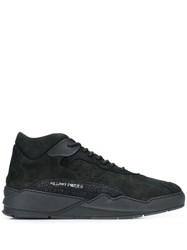 Filling Pieces Side Logo Sneakers Black