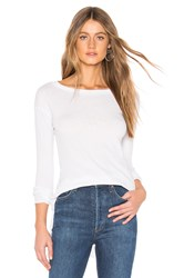 Frank And Eileen Tee Lab Long Sleeve Tee With Shirttail White