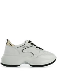 Hogan Chunky Low Top Trainers White