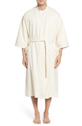 Majestic International Men's Sherbroke Robe Natural