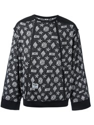 Ktz Monogram Sweatshirt Black
