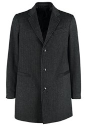 United Colors Of Benetton Classic Coat Mottled Black