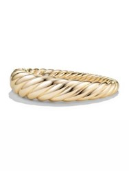 David Yurman Pure Form Cable Bracelet In 18K Gold