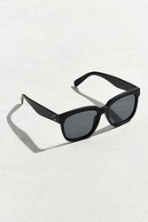 Urban Outfitters Uo Flat Lens Squared Sunglasses Black