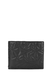 Neil Barrett Black Quilted Leather Wallet