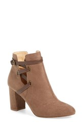 Women's By Zendaya 'Keene' Strappy Split Shaft Bootie Mushroom