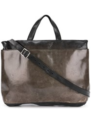 Numero 10 Silico Tote Leather Green