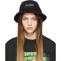 Etudes Studio Black Training Bucket Hat