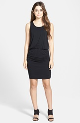 Halogen Blouson Tank Dress Regular And Petite Black