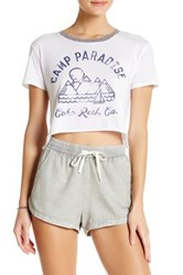 Billabong Camp Paradise Tee White