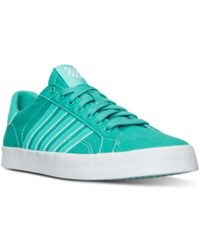 K Swiss Women's Belmont So T Sherbert Casual Sneakers From Finish Line Pool Green White