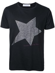 Education From Youngmachines Studded Star T Shirt Black