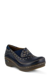 L Artiste Women's L'artiste Burbank Slip On Navy Leather