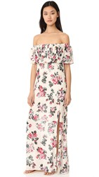 Roe May Brooks Maxi Dress Vintage Floral