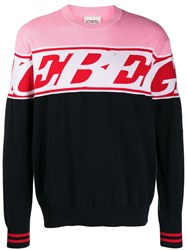 Iceberg Logo Knit Sweater Blue