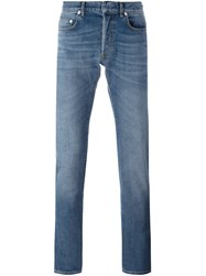 Christian Dior Homme Slim Fit Jeans Blue