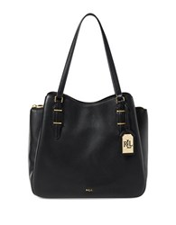 Lauren Ralph Lauren Easby Fenmore Leather Hobo Bag