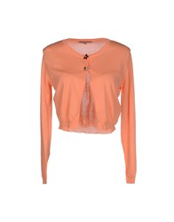 Betty Blue Knitwear Cardigans Women Salmon Pink