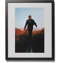 Sonic Editions Framed 1969 Johnny Cash Print 16 X 20 Black