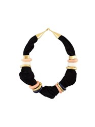 Lizzie Fortunato Jewels 'Surrealist' Collar Black