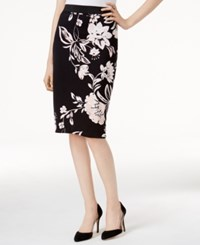 Alfani Petite Printed Pencil Skirt Only At Macy's Timeless Floral