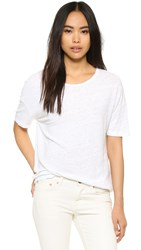 Earnest Sewn Julia T Shirt White