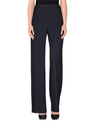 Irma Bignami Casual Pants Dark Blue