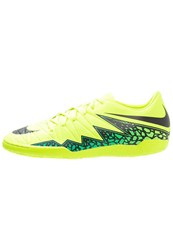 Nike Performance Hypervenom Phelon Ii Ic Indoor Football Boots Volt Black Hyper Turquoise Clear Jade Neon Yellow